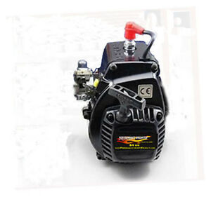14.8 hp Pro-Mod 34cc Zenoah Engine- Fits HPI Baja 5B/5T/5SC, Helicopter, Go-Ped,