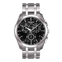TISSOT COUTURIER MENS CHRONOGRAPH WATCH T0356171105100 STAINLESS STEEL RRP £360