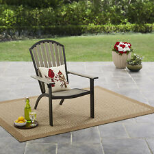 Mainstays Springview Hills Resin Outdoor Adirondack Chair - Lawn/Patio Chair