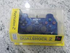DUAL SHOCK 2 OCEAN BLUE CONTROLLER OEM PLAYSTATION 2 PS2 SEALED PACKAGE NEW NIP