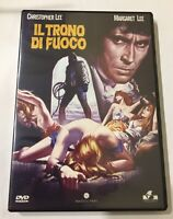 IL Trono Di fuoco DVD Christopher Lee Margaret Lee  Kinski 1970 The Bloody Judge