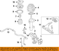 HONDA OEM Front-Lower Control Arm 51360TZ5A01