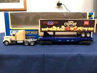 K-line Kroger Heavy Hauler Flat Car w/ Tractor Trailer