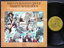 LOUIS HAYES Variety Is The Spice LP GRYPHON G-787 Cecil McBee Frank Strozier