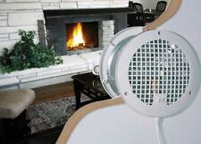 Room-To-Room Transfer Through Wall Fan 2-Speed Air Flow Heat Circulation Vent