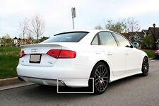 Audi A4 B8 - Rear bumper spoiler corners