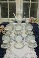 Noritake Rose Lane Tea / Coffee Set 21 Pieces Pink Roses (34)