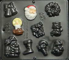 Christmas Assortment Chocolate Candy Mold Christmas 2011 NEW
