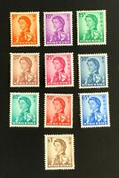 Hong Kong Stamps. SC 203-212. Full Set. 1962. MH. **COMBINED SHIPPING**