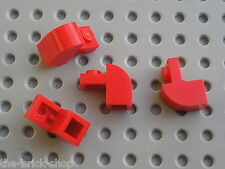 Red Brick curved 6091 LEGO / set 10183 5533 10020 6250 8155 8157 5561 6291 5591