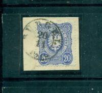Deutsches Reich, Reichsadler im Oval, Nr.34 St Bürgel auf Briefstück