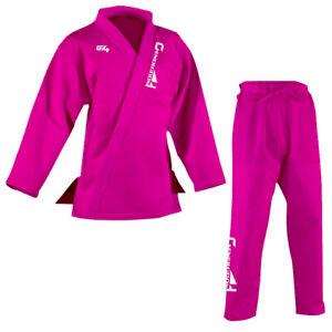 Ladies BJJ Gi Brazilian Jiu Jitsu Suit Jujitsu Uniform Adult Youth Girls Women