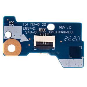 Power Button Switch ON OFF Board Fr HP Hewlett Packard ProBook 450 G4 series tbs