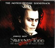 Sweeney Todd: Demon Barber of Fleet Street -Soundtrack CD 2007 (Johnny Depp)