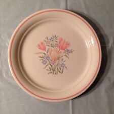Corelle French Garden (Floral w/ Pink Band) Side Plate by Corning
