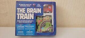 THE BRAIN TRAIN, Multi-Level Puzzles Game - Plus A Train To Run Around The Town