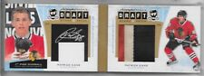 10-11 UD THE CUP ROOKIE AUTOGRAPH DRAFT BOARD & PATCH PATRICK KANE AUTO 8/10 3CL