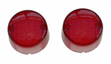 Universal rear light lens round (pair) new - approx. 50mm diameter each