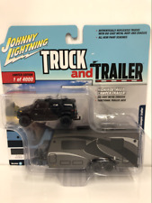 2004 Hummer H2 with Camper Trailer 1:64 Scale JLBT008A