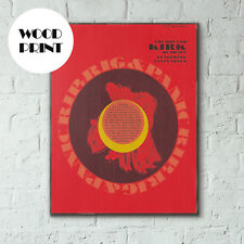 Roland Kirk's Rip, Rig and Panic Album Cover from 1965 Handcrafted Wooden Poster