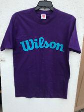 Vintage Wilson Activewear Tennis Shirt Size Medium Cotton Short Sleeve