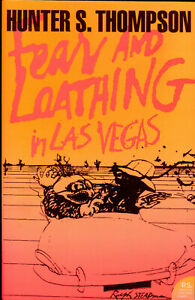 Hunter S Thompson Fear And Loathing in Las Vegas paperback book NEW