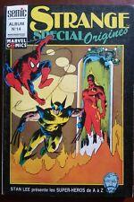 Marvel Album Spécial STRANGE Origine n°14 du 4/1991 les n°250-253-256 hors-Série