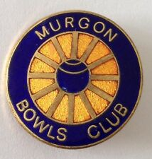 Murgon Bowling Club Badge Pin Vintage (L21)