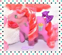 ❤️My Little Pony MLP G1 Vtg 1984 Caramel Crunch Popcorn Candy Cane Pony Curls❤️