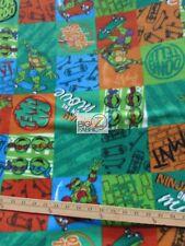 TEENAGE MUTANT NINJA TURTLES BY SPRINGS CREATIVE FLEECE PRINT FABRIC 60 WIDE 837