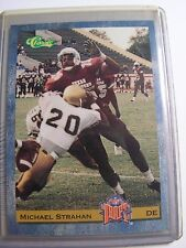 Michael Strahan 1993 Classic New York Giants Draft Rookie Cards NFL FOOTBALL 58