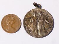 Antique German 1902 DUSSELDORF Exhibition Expo Medal #GM1 *