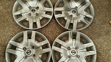 "Set Of 4 53084 16"" NEW Hubcaps Wheelcovers 2010 2011 2012 Nissan Sentra Bolt On"