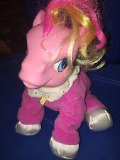 "2004 ""My Little Pony"" Talking So Soft Pony ""Good Morning Sunshine"" 11"" Plush"