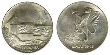 200 Kroner 1980 35° Anniversary of Liberation Norvegia Norway Silver #4471