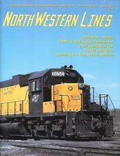 North Western Lines Summ.2001 C&NW Real Estate CGW EMD Flat Car SD38-2 HO Diesel