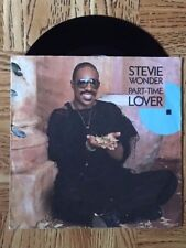"STEVIE WONDER ""Part-Time Lover"" 45 Tours SP"