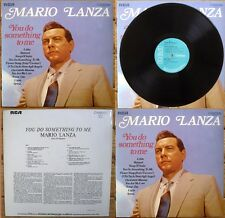 MARIO LANZA - LP – YOU DO SOMETHING TO ME – CAMDEN RCA CDM 1001 – Press. UK 1969