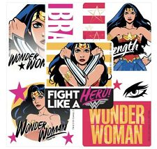 25 DC Comics Wonder Woman Brave Hero Stickers Party Favors Teacher Supply