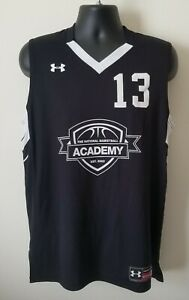 Under Armour Black and White  Men's Basketball Tank Top #13 Shirt Size Large