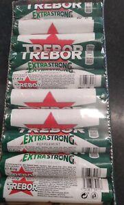 Trebor Extra Strong Peppermint Mints -40 Rolls 41.3g long date
