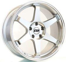 19X9.5 +35 ESR SR07 5x114.3 Machine Wheel Fits Mazda 3 6 Rx7 Rx8 Fusion Escape