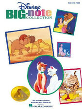 Disney Big Note Easy Piano Songbook 40 Song Book Sheet Music SONGBOOK