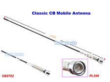 27MHz 2dB Gain CB Mobile Antenna PL259 Connector 71cm Length CB2702