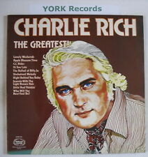 CHARLIE RICH - The Greatest - ExcellentCon LP Record