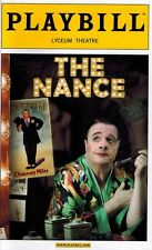 THE NANCE BROADWAY  PLAYBILL  -  NATHAN LANE