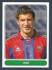 PANINI EUROPEAN FOOTBALL STARS 1997- #063-BARCELONA & PORTUGAL-FIGO