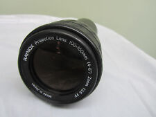 "Raynox Projection Lens 100-150mm (4-6"") Zoom F3.5 FF"