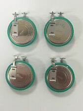 4 (PCS) Sony CR2050S Lithium Buttom Battery 3V Coin Cell Tab-welded