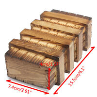 Magic Box Chinese Vintage Classic Brain Magic Trick Wooden Puzzle Box #DT4X